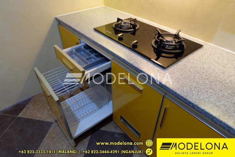 Kitchen Set Minimalis Kediri Yang Modern Modelona Kitchen Set